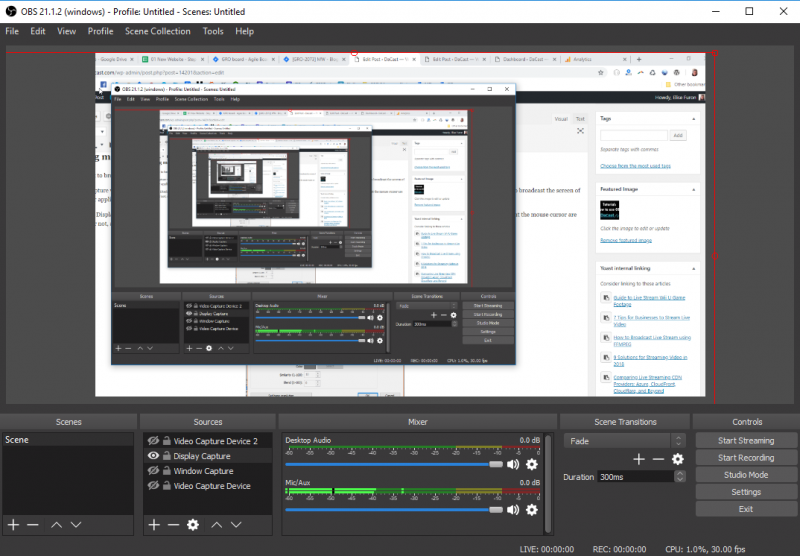 OBS Streaming Software