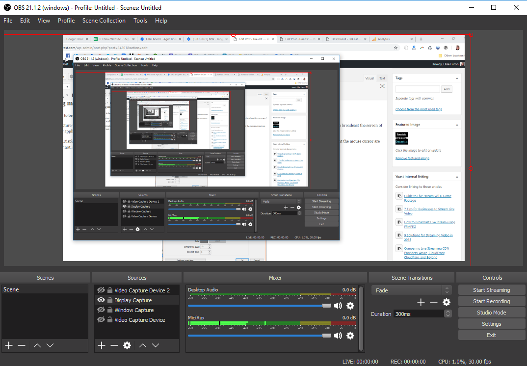Popular Live Streaming Software for Twitch   Live Streamer Setups